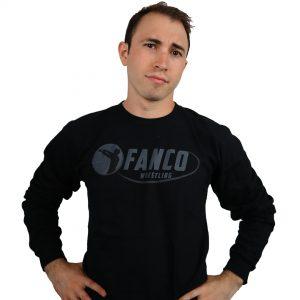 Fanco Black on Black Long-Sleeve Tee