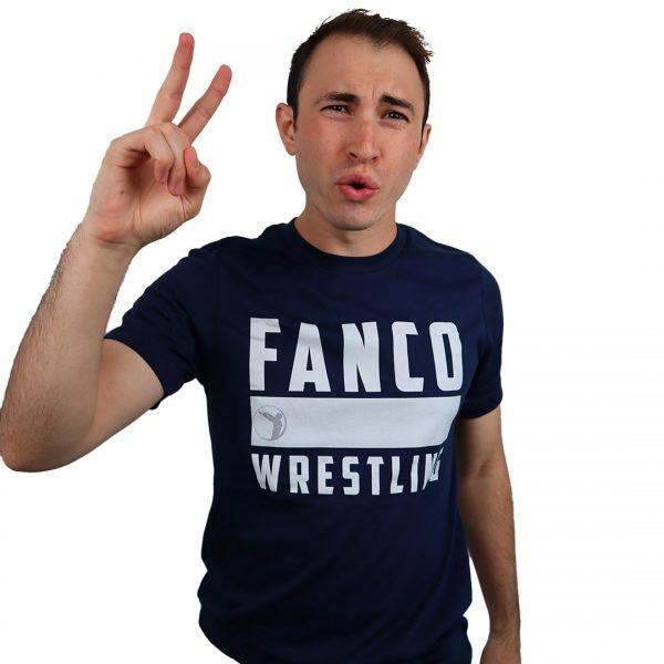 we are fanco wrestling tee blue penn state shirt