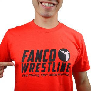Fired Up Fanco Wrestling Tee