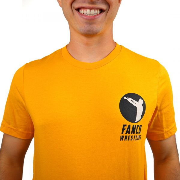 yellow fanco fight for it shirt close up